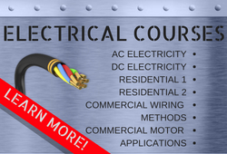 Course Information for the Electrical Program