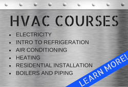 Course information for the Heating & Cooling Program